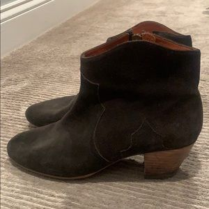Isabel Marant black dickie boots size 40
